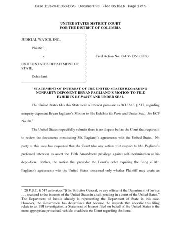 Page 1: JW v. State DOJ statement of interest 01363