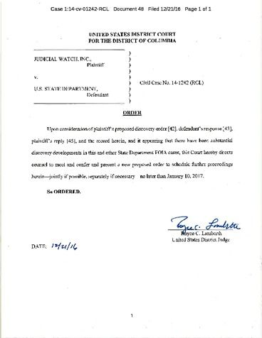 Page 1: JW v State Dec 2016 order re proposed discovery