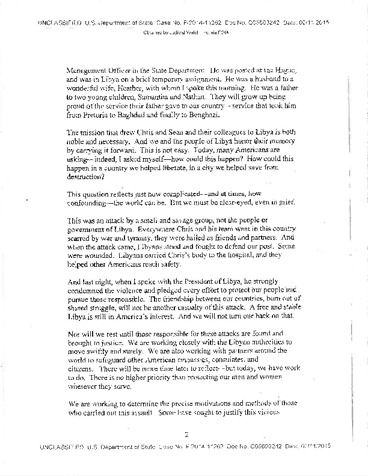 Page 1: Benghazi Ops Alert FOIA Page 10-11