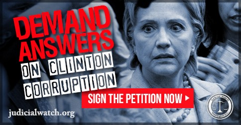 Image result for Sign the petition now to demand that Hillary Clinton answer for her corruption!