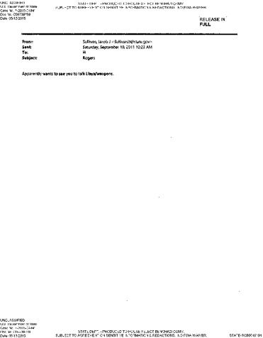 Page 1: HRC Emails Rogers