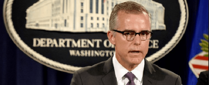 Judicial Watch Statement on the Firing of FBI Deputy Director Andrew McCabe