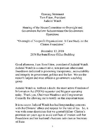 Page 1: Fitton testimony, Oversight Committee 12 2018